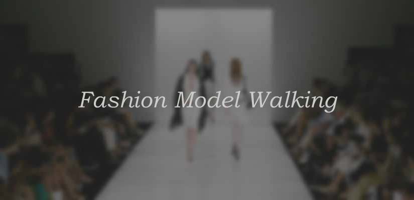 Fashion Model Walking